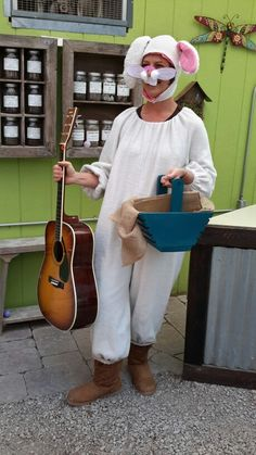 Did you know the easter bunny plays the guitar