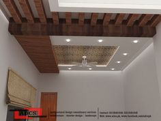 Simple and Impressive Ideas: False Ceiling Beams Interior Design false ceiling architecture spaces. False Ceiling Living Room, Home Ceiling, Ceiling Chandelier, Modern Ceiling, Ceiling Beams, Ceiling Tiles, Ceilings, Chandeliers, Ceiling Lights