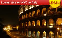 Air Fares Flight Ticket Booking to and from Italy Book Cheap Flights Tickets from Italy with AirFareMall Com We offer Great airfare deals on International and Domestic Flight Bookings