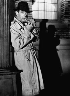 """Fred MacMurray in """"Pushover"""" (1954)"""