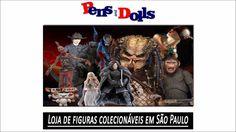 Loja de figuras colecionáveis em São Paulo - Pens and Dolls