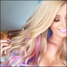Hair Color Trends 2017/ 2018 - Highlights : Long Blonde Hair with ... | Einfache Frisuren