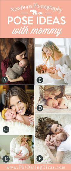 Pose Ideas with Mommy