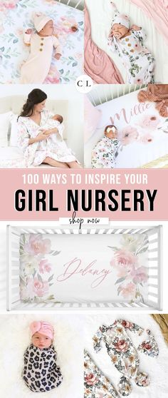 Shop the cutest crib sheets, softest swaddles, most adorable personalized nursery decor. and let all of the gorgeous prints and colors inspire your nursery design! Baby Room Decor, Nursery Decor, Nursery Ideas, Baby Family, Everything Baby, Baby Time, Crib Sheets, Nursery Design, Cute Baby Clothes
