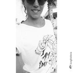 Grazie @lunghielena  MONO| Maglieria Artigianale  #tshirt #girl #proud #aves #blackandwhite #summer #picoftheday #madeinitaly #fashion #streetstyle #thankyou #mono #sunglasses #model #repost