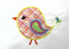PAISLEY BIRD Machine EMBROIDERY Design  Instant by EmbroideryBrat