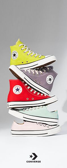 0606c1185f54 Brighten up your look with pops of color. Shop the Chuck Taylor All Star  collection