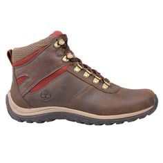 The Norwood women's waterproof hiking boots from Timberland have sleek…