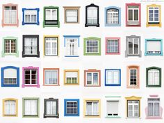 Windows of the World World Photography, Photography Projects, Urban Architecture, Architecture Details, Building A Shed, Building Design, Window Design, Wall Design, Monsaraz