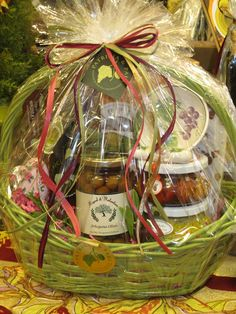 Pick up one of our gift baskets or make up your own!