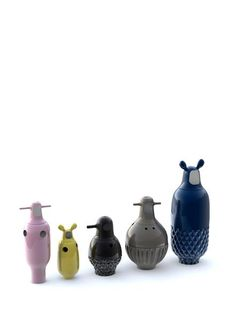 Showtime vases from BD Barcelona by designer Jaime Hayon (via Fab.com)