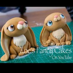 My little bunny rabbit topper tutorial is now live over on my YouTube channel; Zoe's Fancy Cakes. Made using @renshawbaking fondant. I hope you enjoy the tutorials.  #easter #Easterbunny #bunny #rabbits #rabbit #instarabbit #caketopper #caketoppers #zoesfancycakes #tutorial #youtube #howto #freetutorial #fondant #floppyears #spring #hopping #sugarcraft #sugarart #handmade #ilovemyjob #cute