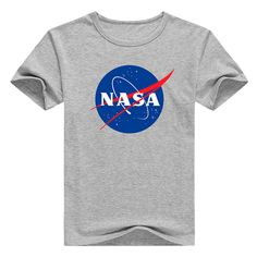 Nasa katoen mannen van de manier t- shirt nieuwe ontwerp zomer stijl bedrukte…