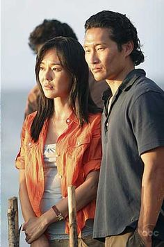Lost - Sun and Jin one of my fav tv couples