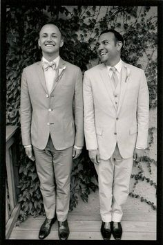 A Nashville #gay couple right after their wedding. Totally adorable! #lgbt #marriage