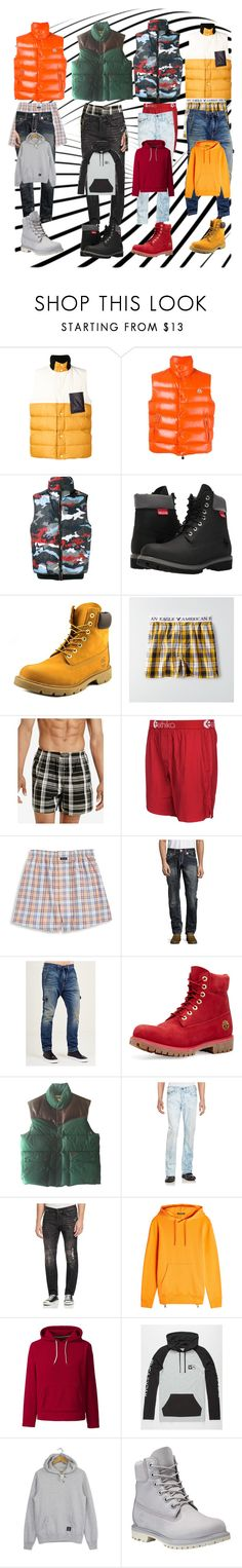 """Trues & Timbs"" by jassymonik on Polyvore featuring Marni, Moncler, Moncler Gamme Bleu, Timberland, American Eagle Outfitters, Polo Ralph Lauren, Ethika, Façonnable, True Religion and Balmain"