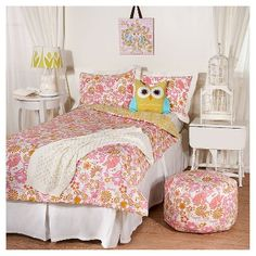 Hibiscus Quilted Bedding Pottery Barn Kids Ila S Bed