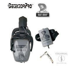 Gray Ghost Wireless Headphones - FBS & CTX 3030