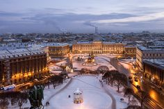Beautiful St Petersburg in winter!    www.st-petersburg.com #spb #stpetersburg #russia