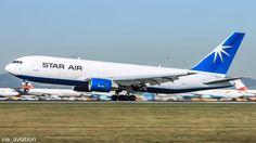 Star Air Boeing 767 freighter - by vie_aviation
