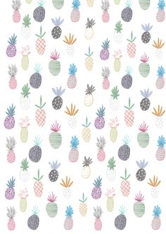 New pineapple print commissioned by ASOS!!