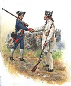American Revolutionary War, Native American History, American Civil War, Us History, Women In History, British History, Ancient History, Military Art, Military History