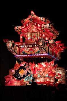 Tonami Yotaka Lantern Festival, Toyama, Japan - Carefully selected by GORGONIA…
