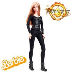 Muñeca Barbie Divergent. Tris Prior, Mattel Muñeca Barbie inspirada en el personaje de Tris Prior, protagonista de la película Divergent.