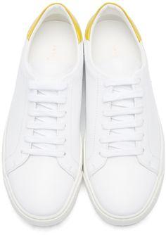 Anya Hindmarch - White Wink Tennis Sneakers
