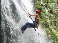Waterfall Rappel Activity Tour http://apsense.cc/e2c199 Rappel in Barandillas Watefalls. Enjoy the warm weather of the place and challenge your skills with this thrilling activity. #colombia