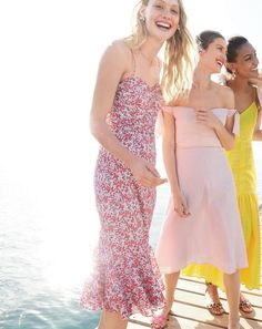 Life's a party. Dress like it. Introducing a brand-new J.Crew women's collection of very pretty, very festive pieces for every bash, blow out and beach shindig on your spring and summer agenda.