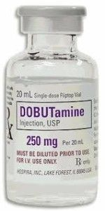 Dobutamine Injection (250 mg/20 ml) by Hospira Recalled due to Visible Particulates