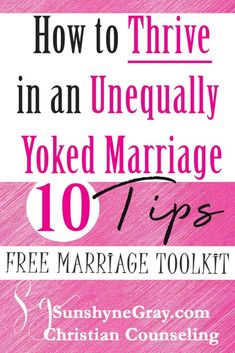 Learn how to thrive in Unequally Yoked Marriage. Marriage advice in 10 easy to apply tips with simple truths about your marriage.like there are blessings in a spiritual mismatch! Click through and get a FREE marriage toolkit instantly! Marriage Relationship, Marriage Tips, Happy Marriage, Christian Marriage Advice, Biblical Marriage, Fierce Marriage, Marriage Prayer, Christian Dating, Faith Prayer