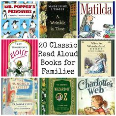 Untrained Housewife: 20 Classic Read Aloud Books for the Whole Family