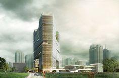 """Zhejiang Printing Group Headquarters""""Hangzhou corner""""/LYCS Archi"""