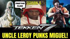 MIGUEL GETS PUNKED! (Tekken 7 Season 4)- Leroy Smith Matches, Gaming, FGC. Tekken 7, Season 4, Gaming, Baseball Cards, Videogames, Game
