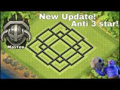 Clash Of Clans - EPIC TH8 New Trophy pushing Base Layout Speed Build! NEW♦ - YouTube