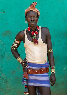 Hamer man, Turmi, Ethiopia by Eric Lafforgue. (Photographer) Hamar tribe.  Ethiopia