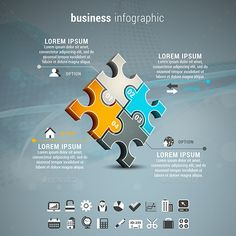 Business Infographic — Photoshop PSD #orange #diagram • Available here → https://graphicriver.net/item/business-infographic/12034868?ref=pxcr