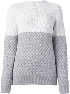 Shop Proenza Schouler multi-knit sweater in O' from the world's best independent boutiques at farfetch.com. Shop 300 boutiques at one address.