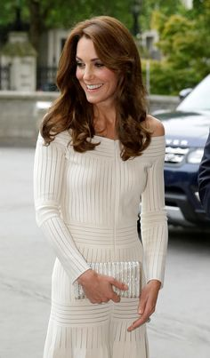 July 2016 | Britain's Catherine, the Duchess of Cambridge, arrives to present the Art Fund Museum of the Year 2016 prize at a dinner hosted at the Natural History Museum in London, July 6, 2016. REUTERS/Matt Dunham/Pool via @AOL_Lifestyle Read more: https://www.aol.com/article/lifestyle/2018/02/07/surprising-reason-duchess-kate-is-never-allowed-to-take-off-her-coat-in-public/23355629/?a_dgi=aolshare_pinterest#slide=7220484