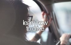 Learn how to drive a stick shift...sigh