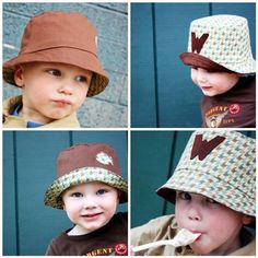 Free Bucket Hat Pattern for Toddlers
