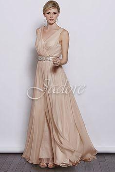 Jadore - J3040 bridesmaid dress - $310 white runway