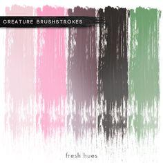 *brushstrokes* | fresh hues Pink birds
