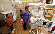 Families got a sneak peak at the new NICU during a public grand opening celebration in April. Nicu, Grand Opening, Product Launch, The Unit, Kay Jewelers, Pavilion, Children, Families, Celebration