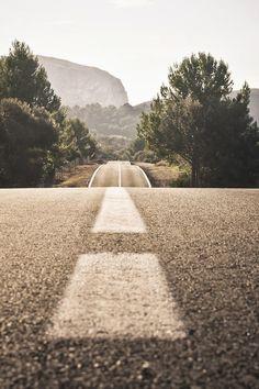 da estrada para a terra
