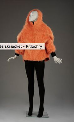 By the mid-20th century alpine skiing had become one of the most popular European winter sports. Equally popular among the best-dressed set was the 'après-ski' or fashionable lounging after a day on the slopes. This informal jacket, made of warm mohair in a sleek 1960s silhouette, was designed as après-ski wear.