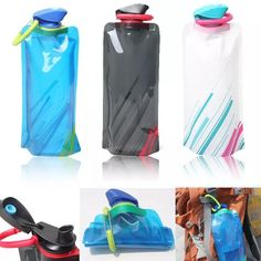 Water Bags Outdoor Portable Thickened Folding Water Bladder Tube Bag For Outdoor Sport Running Camping Hiking Mountain Cycling Drink Pouch