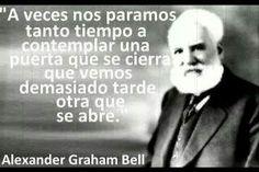 Alexander Graham Bell #citas #frases